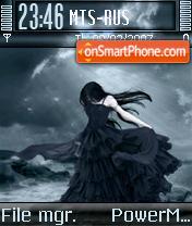 Lady In Dark theme screenshot