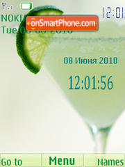 Margarita theme screenshot
