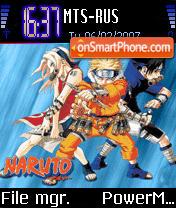 Naruto Reedited theme screenshot