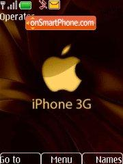 Apple Iphone 3g es el tema de pantalla