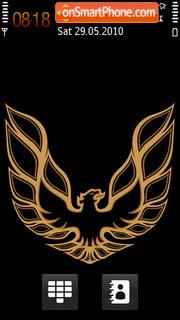 Fire Bird theme screenshot