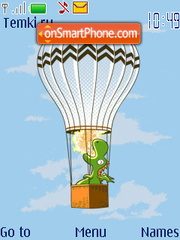 Dragon Balloon theme screenshot