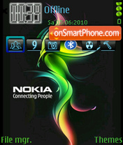 NewNokia2010 theme screenshot