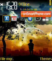 Alone 17 tema screenshot