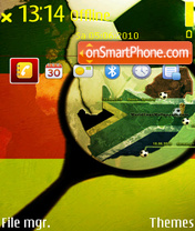 Fifa world cup theme screenshot