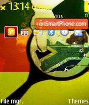 Fifa world cup es el tema de pantalla