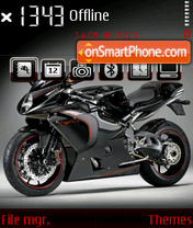 MV Agusta F4 theme screenshot