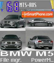 M5 theme screenshot