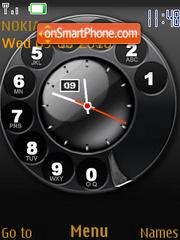 Call Clock theme screenshot