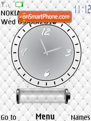 Batery Clock es el tema de pantalla