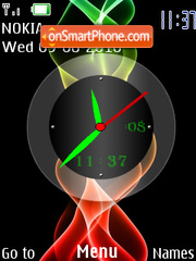 Color Full Clock theme screenshot