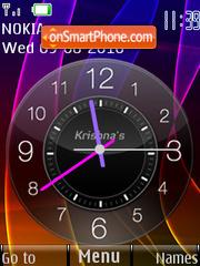 Color Clock es el tema de pantalla