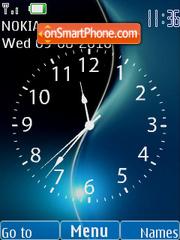 Flash Clock es el tema de pantalla