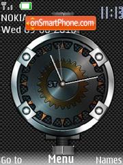 German Clock es el tema de pantalla