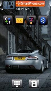 Aston martin 08 theme screenshot