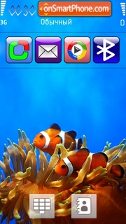 Clown Fish 01 theme screenshot