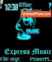 Скриншот темы Xpress Music 03