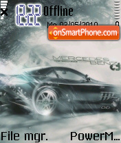 Mercerdese Benz theme screenshot