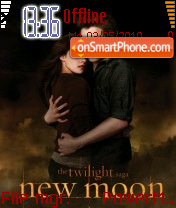 New Moon 09 theme screenshot