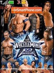 Wrestle Mania es el tema de pantalla