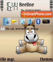 eMule for n80 theme screenshot