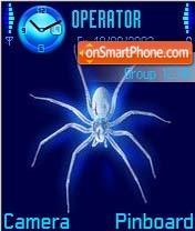 Neon Spider es el tema de pantalla