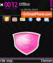 Hello Kitty 37 theme screenshot