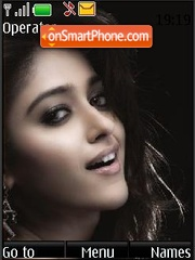 Ileana D'Cruz (India) theme screenshot