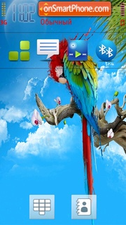 Bird 01 theme screenshot