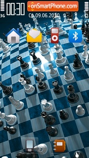 Chess 05 theme screenshot