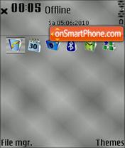 Скриншот темы Gradient 01