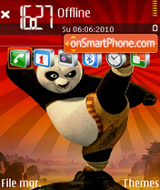 Panda 11 theme screenshot