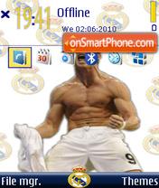 Cristiano Ronaldo 16 es el tema de pantalla