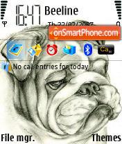Bulldog n73 v2 theme screenshot