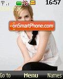 Emma Watson 19 theme screenshot