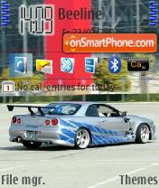 Nissan Skyline es el tema de pantalla