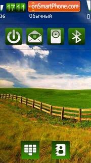 Field 02 theme screenshot