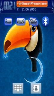 Toucan theme screenshot