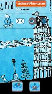 Pisa tower theme screenshot