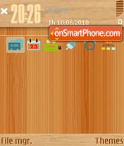 Wood 03 theme screenshot