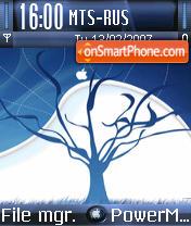 Mac Apple theme screenshot