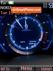 Watch Speedometer theme screenshot