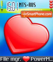 Love Ir theme screenshot
