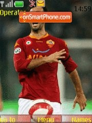 Mirko Vucinic theme screenshot