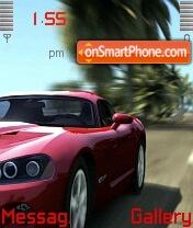 Burnout car es el tema de pantalla