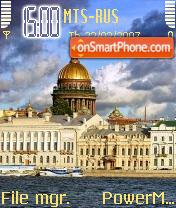 St Petersburg es el tema de pantalla