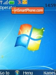 Windows 7 Mobile theme screenshot