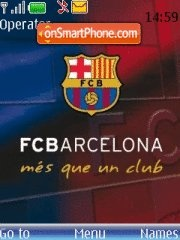 Barcelona tema screenshot