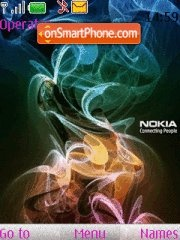Logo Nokia theme screenshot
