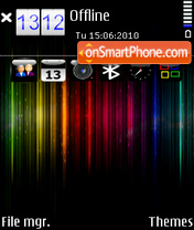 Spectrum by Altvic theme screenshot
